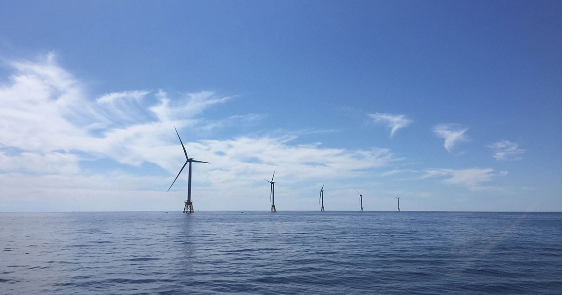 Off-shore wind farm
