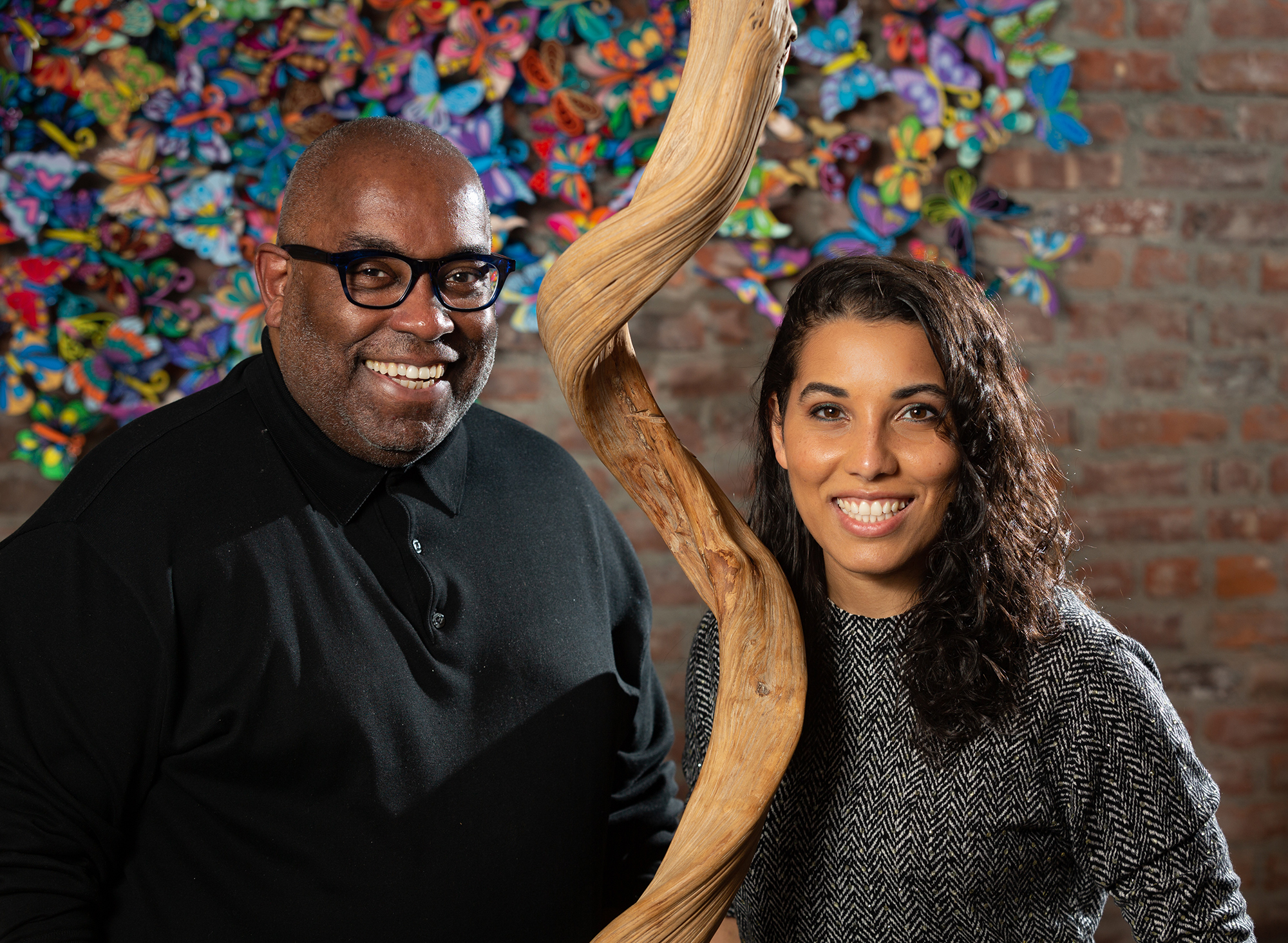 Stephen Robinson and his daughter, Dr. Victoria Robinson.